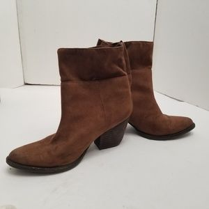 Cocunuts by Matisse True Brown Suede ankle boots